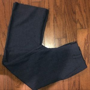 THE LIMITED DARK BLUE/GREY WORK PANTS SIZE 4R
